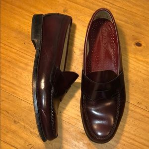 Excellent Bass Weejuns Penny Loafer Cordovan 11.5